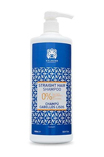 Válquer Champú Cabellos Lisos. Champú Zero sin: sal, sulfatos, etc - 1000 ml
