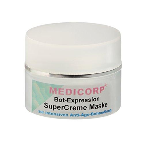 MEDICORP bot de Express ionanti de Age de Super Crema Máscara, Nueva Fórmula sin parabeno, parrafine y Parfum, 50ml
