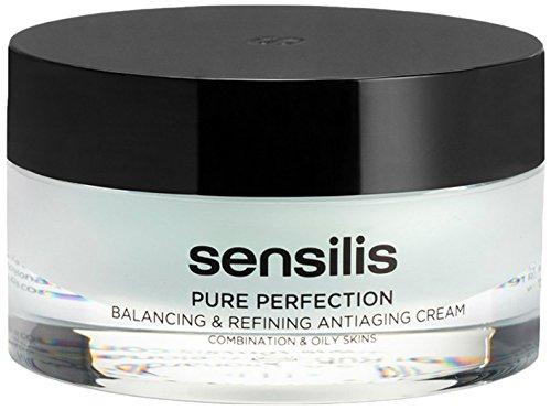SENSILIS Pure Perfection Crema Anti-edad Equilibrante 50ML. SIN PARABENOS, SIN ACEITES MINERALES y SIN INGREDIENTES DE ORIGEN ANIMAL. Dermatológicamente testado