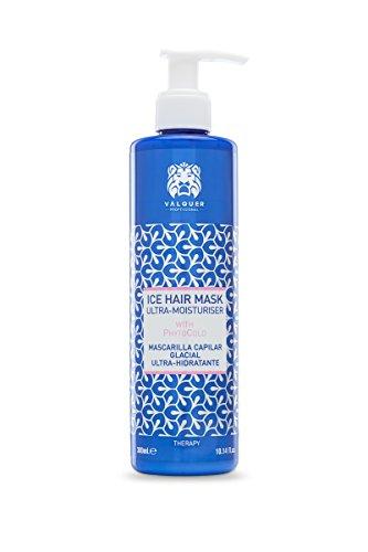 Válquer Premium Ice Hair Mask Mascarilla Capilar De Hielo Ultrahidratante. Sin sal, Sin Parabenos, Sin sulfatos - 300 Ml